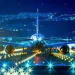 airplane airport flight