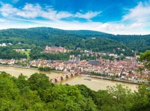 The German city of Heidelberg