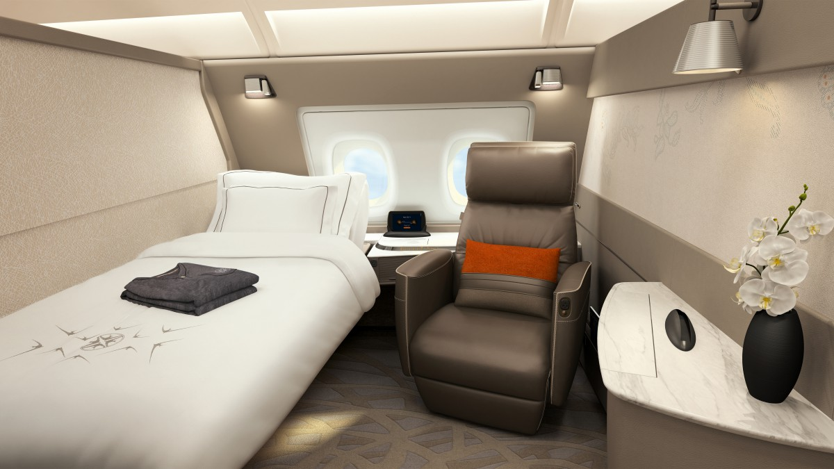 Take a look at Singapore Airlines' brand new luxury suites