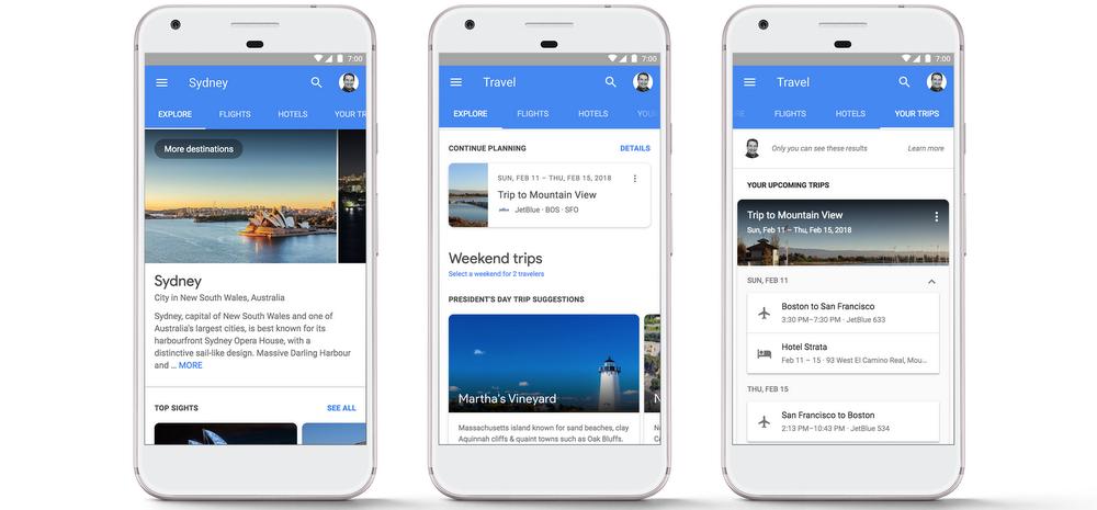 Google Mobile Screenshots