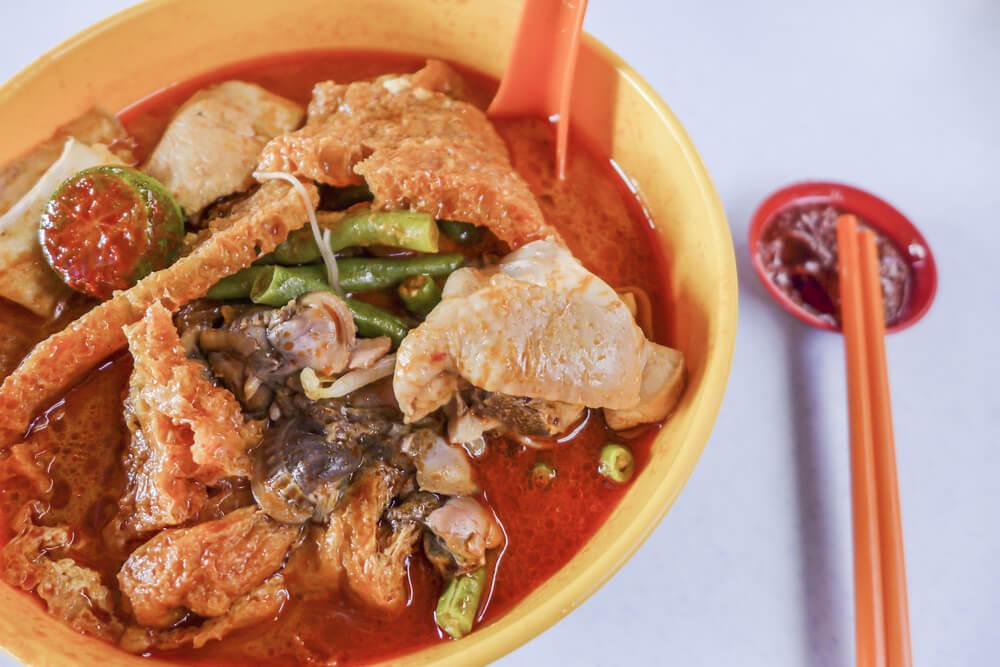 Malaysia Kuala Lumpur Curry Laksa