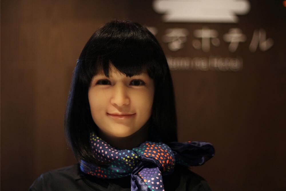 Henn Na Hotel Ginza Robot