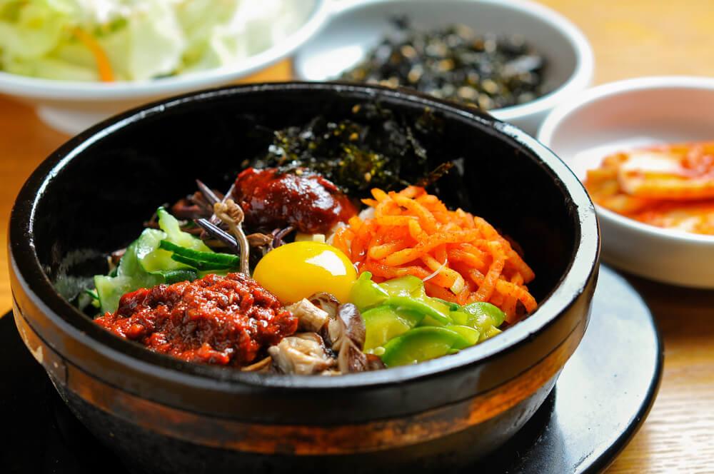 South Korea Seoul Bibimbap