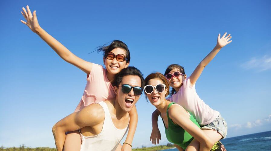 Asian Family Travel