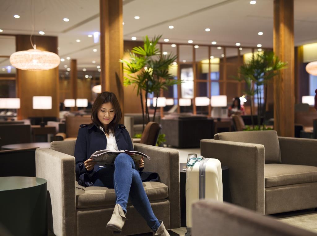 Cathay's new lounge at Taiwan Taoyuan International Airport