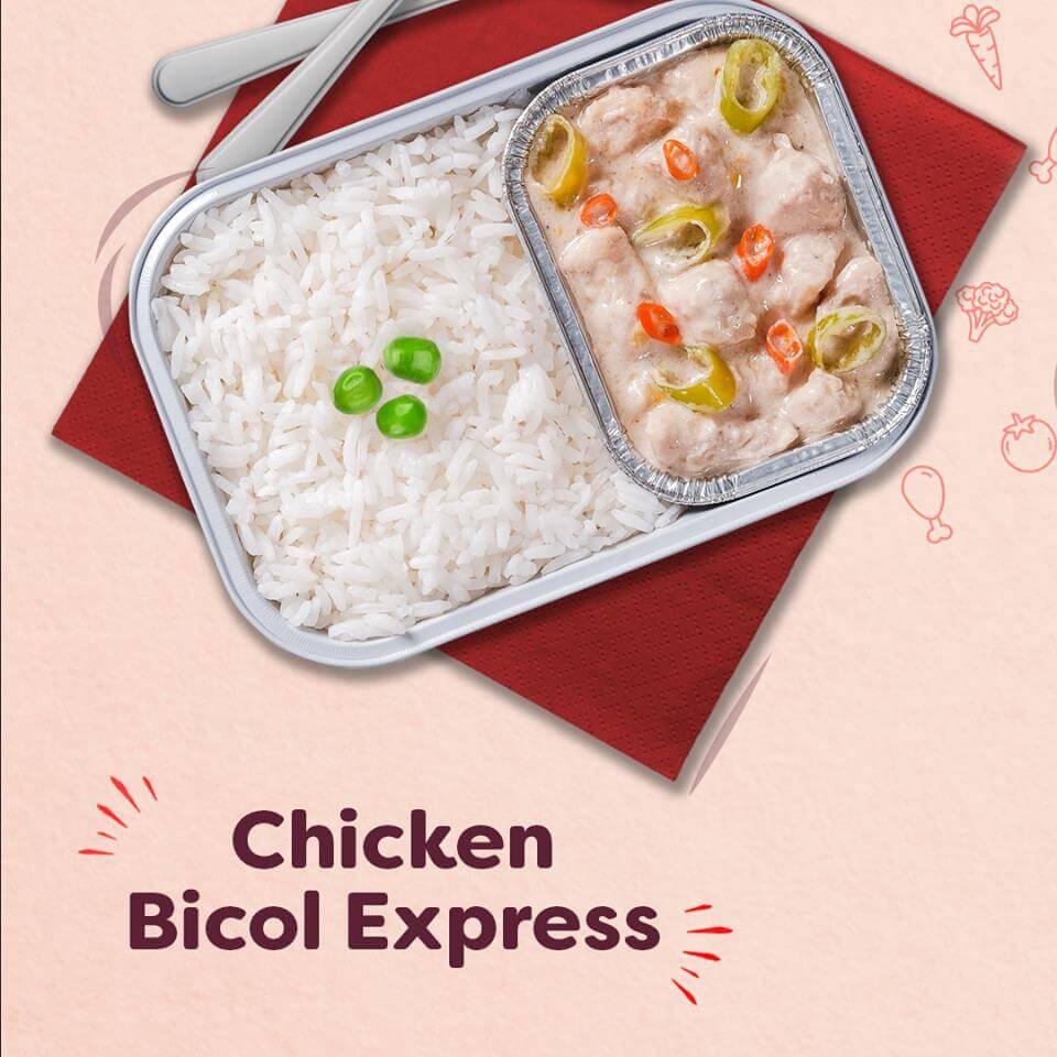 Chicken Bicol Express AirAsia Philippines