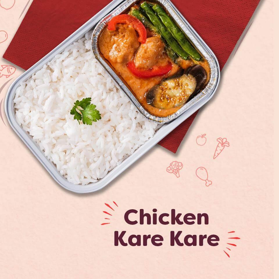 Chicken Kare-Kare AirAsia Philippines