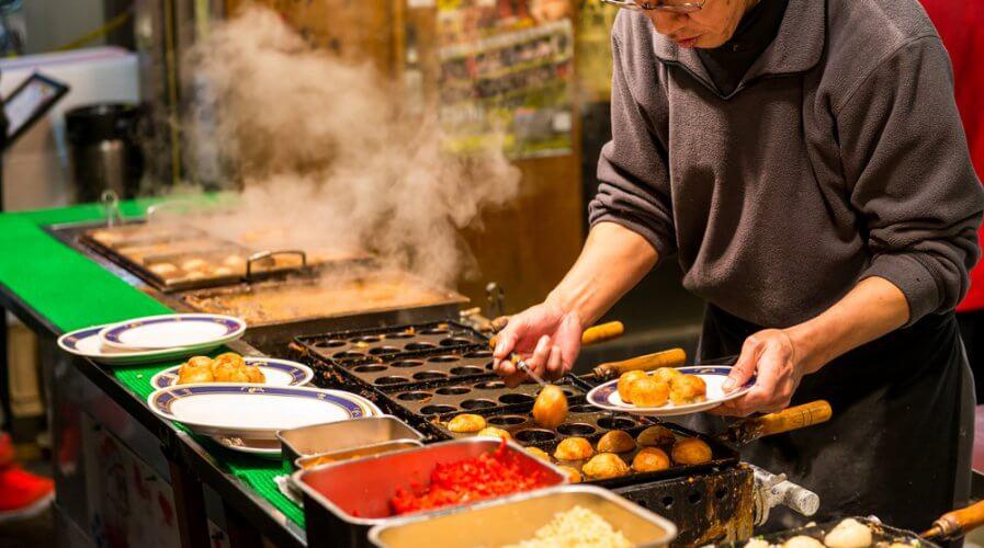 Takoyaki Osaka Japan