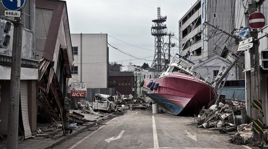Fukushima Japan Tsunami