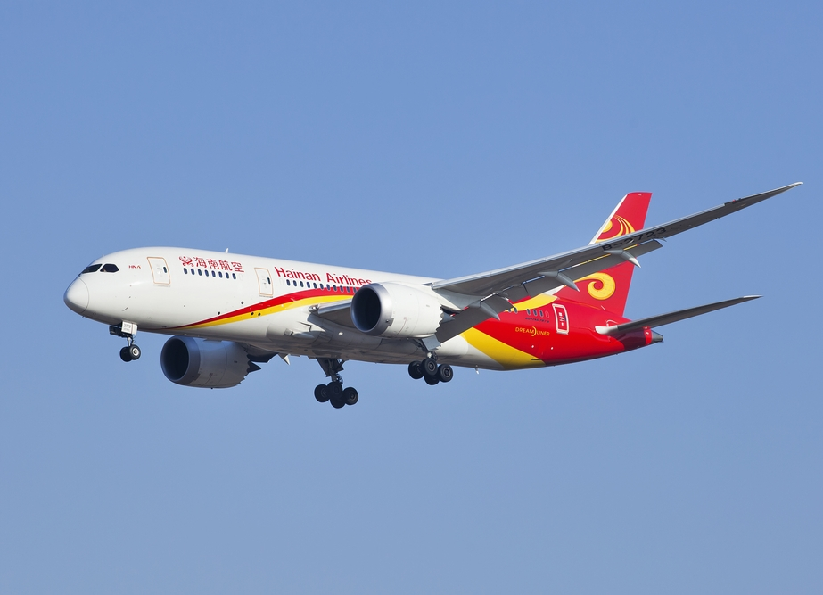 Hainan Airlines' Boeing 787 Dreamliner