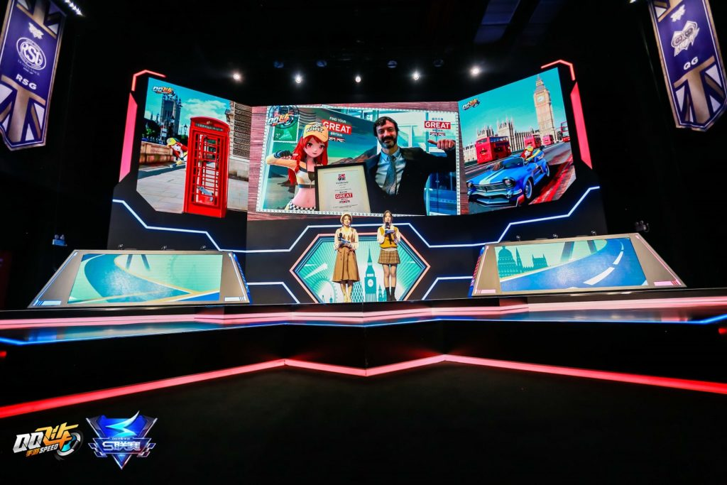 Qq Speed Visitbritain Takes The Fast Lane With Tencent S Racing Game Asia Travel Log
