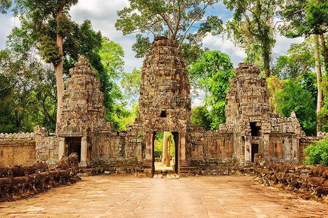 cambodia Preah Khan