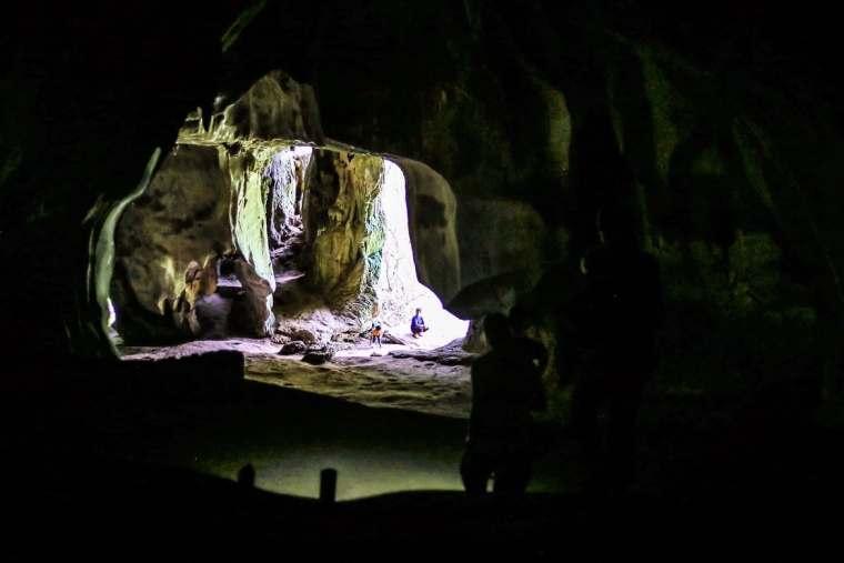 Inside of Pha Thak Cave Laos