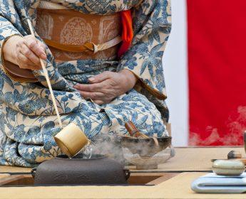 Tea ceremony in Tokyo