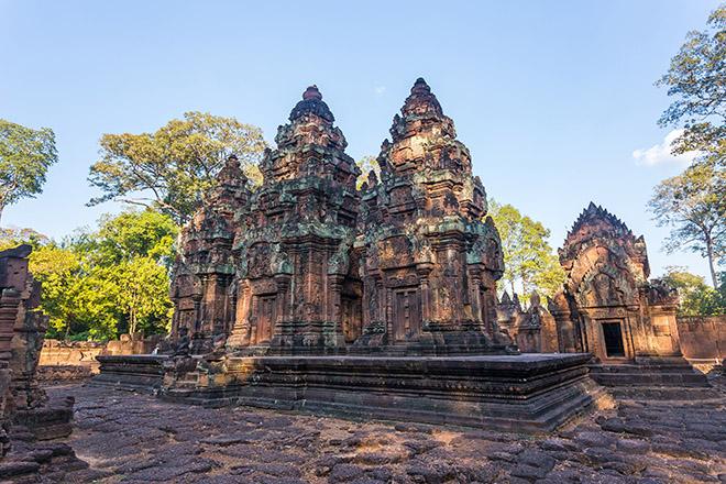 cambodia angkor Banteay Srei