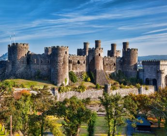 Conwy Castle Wales Tour