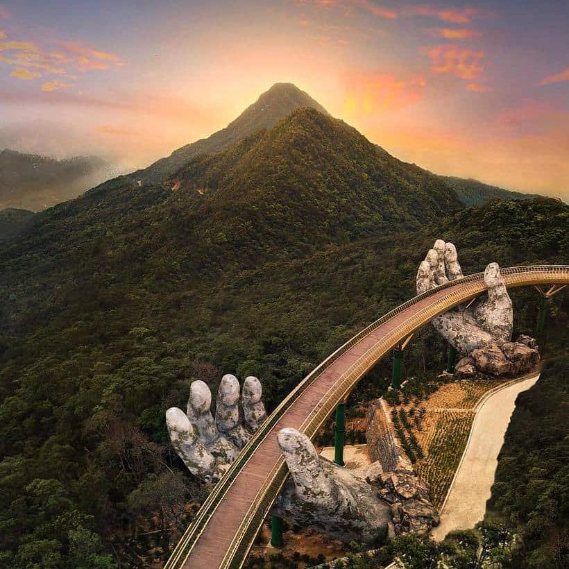 da nang golden bridge
