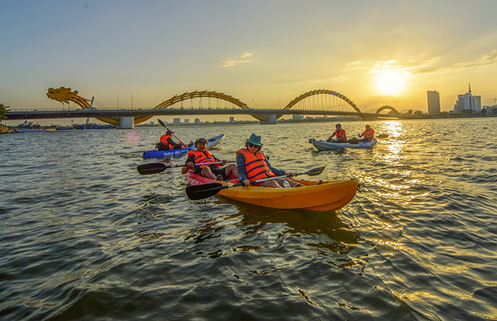 kayaking in vietnam danang