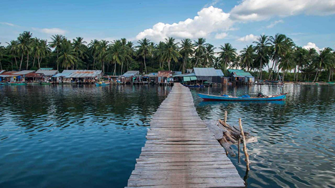 starfish in Phu Quoc rach vem village (2)