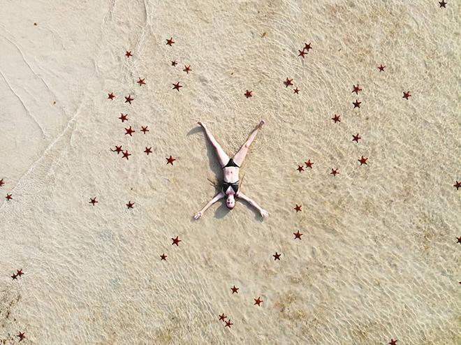 starfish in Phu Quoc rach vem village
